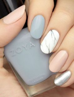 Pastel + Marble + Oval