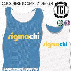 TGI Greek - Sigma Chi - Greek Apparel - #SigmaChi #Intramural
