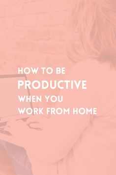 When you work from home you are faced with many distractions that make it hard to focus on your tasks. Learn how to be efficient when you are self-employed