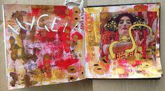 Cradle of Craft | Get Messy Art Journal | Season of Serenity | Get Messy Goddess | Hygeia