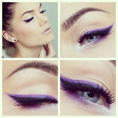 Applying Eyeliner for Blue Eyes