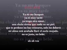 ▶ Mana - Te Llore Todo Un Rio Letra - YouTube