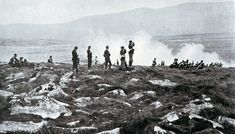 British Mountain Gun Battery in action: Battle of Spion Kop on January 1900 in the Boer War British Soldier, South Africa, Gun, Battle, Mountain, Action, River, Soldiers, January