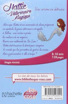 Amazon.fr - Hattie Vétérinaire magique 04 - Une sirène en détresse - Natacha Godeau, Claire Taylor-Smith - Livres