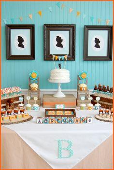 Goldilocks & the three bears birthday party! So cute.