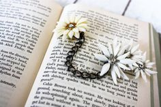 Daisy Sweater clip repurposed vintage clip by DejaVuVintageJewelry