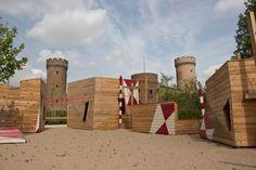 Modern Castle Playground, Zulpich Germany, RMP Stephan Lenzen, 2014