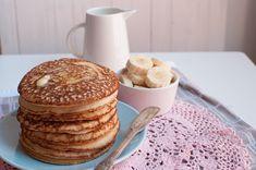 Gluten and sugar free buckwheat buttermilk pancakes. The best pancakes ever.