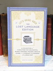 Let's Bring Back : The Lost Language Edition