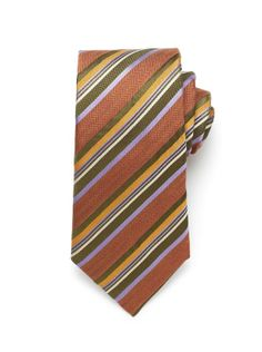 Multi Stripe Tie - Pumpkin (http://noeliasanchez.jhilburn.com/products/multi_stripe_tie/pumpkin) $89
