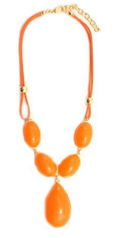 """Colier """"Sweet orange"""" - Meli Melo - Paris Meli Melo, Orange, Paris, Sweet, Summer, Collection, Jewelry, Candy, Montmartre Paris"""