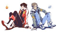 Elements of Voltron / Keith and Lance