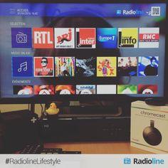 On recherche un stagiaire développeur web javascript pour s'amuser avec tous ces jouets ! #DevWeb #TV #ApplicationTV #RadiolineLifestyle