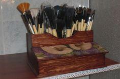 Organizador de brochas y pinceles