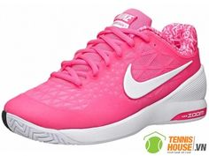 Giày Tennis Nữ Nike Zoom Cage 2 Pink (705260-610) http://tennishouse.vn/tui---ba-lo-tennis-nike/tui-tennis-nike-team-training-max-air-med-p468.html
