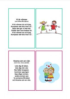Mariaslekrum - Illustrerade sånger. Reggio Emilia, Kids Corner, Kids Playing, Swedish Language, Montessori Baby, Kindergarten Teachers, Music Classroom, Pre School, School Supplies
