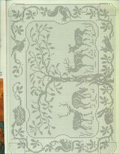 Gallery.ru / Photo # 61 - Filet Crochet pour Point de Croix 2 - Mongia