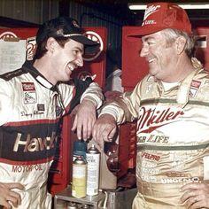 Davey Allison and Bobby Allison