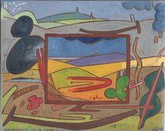 Gerald Shepherd: Landscape In A Landscape