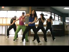 Zumba Choreography -Single Ladies.MPG. super fun... this lady is really getting in to it!