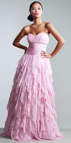 Wonderful evening gown.