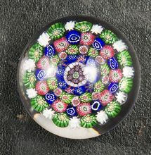 French Vintage Baccarat Millefiori Paperweight