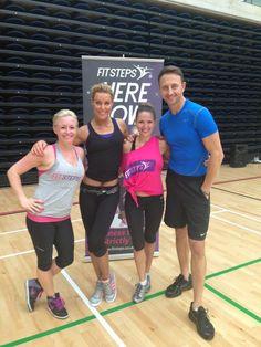 Fitsteps - the new dance fitness craze!