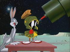 Bugs Bunny & Marvin Martian