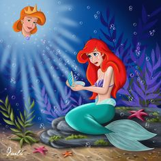 MEMORY OF A MOTHER by *FERNL on deviantART ~ Ariel The Little Mermaid