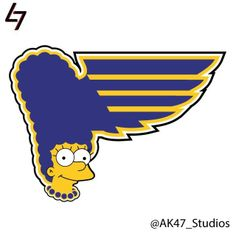 If NHL Team Logos Used Simpsons Characters | StockLogos.com