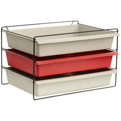 Charlotte Perriand File Rack, circa 1955 | From a unique collection of antique and modern cabinets at https://www.1stdibs.com/furniture/storage-case-pieces/cabinets/