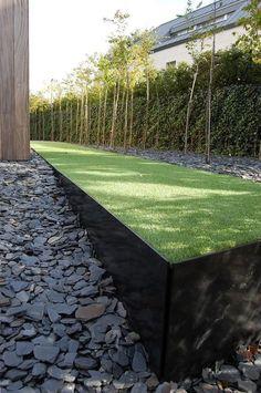5 Fabulous Ideas For Landscaping With Rocks – Garden Ideas – Garden Design Landscaping With Rocks, Modern Landscaping, Garden Landscaping, Landscaping Ideas, Back Gardens, Outdoor Gardens, Design Jardin, Lawn Edging, Contemporary Garden