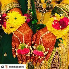#Repost @bibimagazine (@get_repost)  As seen in #bibibridalmagazine 2017: Trendy #floraljewelry by @sailyasfloraljewelry for Mehendi and Haldi celebrations!  #bridalmakeup #bridallook #henna #hennatattoo #southasianwedding #groom #bride #southasianbride #desiwedding #indianbride #shaadi #walima #mehndi #sangeet #yellowgharara  #mehendinight #freshflowers  #bridaljewelry #pakistanibride #dulhan #bigfatindianwedding #mayoun #bibibridalmagazine #bibibridal #bibimagazine #bibibride #bibiwedding…