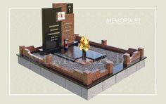 Надгробный комплекс для двойного захоронения. Гранит, бронза, керамика. #памятники #надгробия #мемориальный_комплекс #надгробный_комплекс #гранит #granit #gravestone