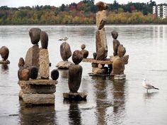 ottawa river rock statures