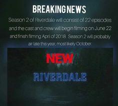 Riverdale season 2 NEWS