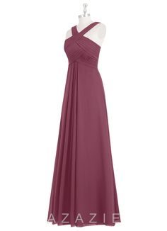 Shop Azazie Bridesmaid Dress - Kaleigh in Chiffon. Find the perfect made-to-order bridesmaid dresses for your bridal party in your favorite color, style and fabric at Azazie.
