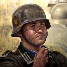 La Pintura y la Guerra. Sursumkorda in memoriam Military Photos, Military Art, Military History, World History, World War Ii, Spanish War, Ddr Museum, Ww2 Uniforms, Spain