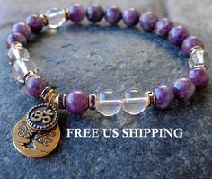 Change Lepidolite Rose Quartz buddha meditation by LifeForceEnergy, $31.00