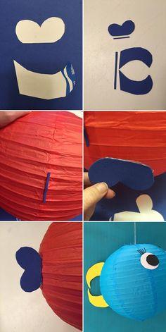 como hacer un pez globo para fiestas tematicas niños