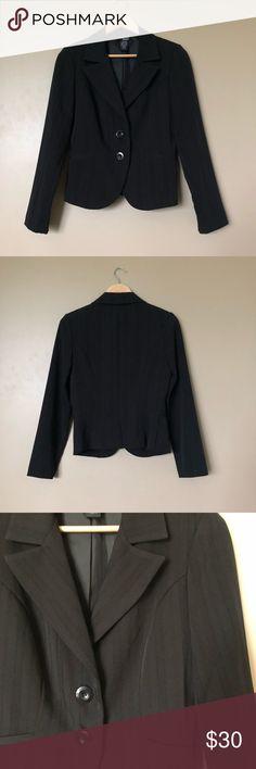 Essentials  Black Classic Two Button Suit Modern essentials juniors two  button blazer suit in be9cf4205627