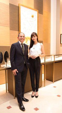 新川優愛 staff @yua_staff  9月29日 昨日、カルティエ銀座ブティックのグランドオープンにお招き頂きました!  #CARTIERGINZA
