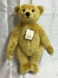 STEIFF British Collectors Bear 2001 TEDDY 654992 Limited Edition 1747/4000