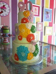 All Buttercream Cake, Leah's Sweet Treats in Fort Worth, TX