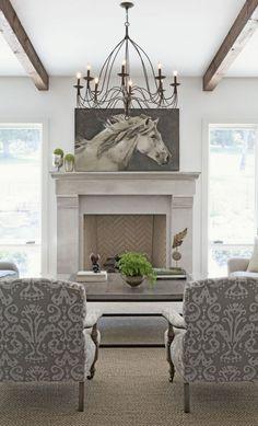 www.pegasebuzz.com | Equestrian interior design : Equestrian Chic