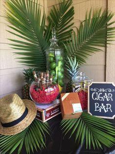 Diy Cigar Bar Havana Nights Cuban Themed Birthday Party pertaining to Cuban Party Decorations Havanna Nights Party, Havanna Party, Havana Nights Party Theme, Cigar Party Theme, Cuban Party, Jamaican Party, Cigar Bar, Cigar Boxes, Cuban Cigars