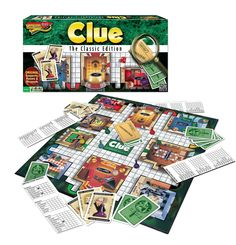 Clue: A classic, but one my kids have rediscovered and are really enjoying.