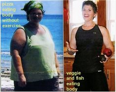 120lb weight loss, from Bob Harper's page...