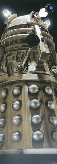 Doctor Who - Dalek Supreme by *caldwellart on deviantART