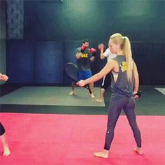 Olivia Munn training for Psylocke